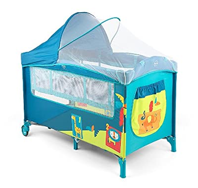 Milly Mally 2732Viaje Mirage Deluxe Cama Infantil, color azul