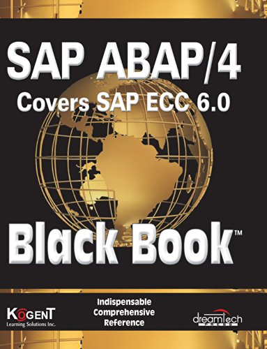Sap Abap/4, Covers Sap Ecc 6.0, Black Book: 2009 Ed