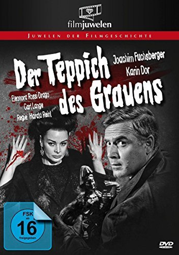 The Carpet of Horror (1962) ( Der Teppich des Grauens ) [ NON-USA FORMAT, PAL, Reg.0 Import - Germany ] by Karin Dor (Infinity-teppich)