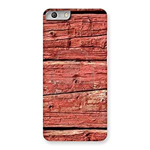 Pale Red Print Back Case Cover for Micromax Canvas Knight 2