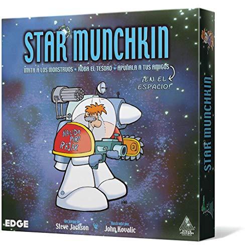 Edge Entertainment- Star Munchkin - Español, Color (EESJSM01)