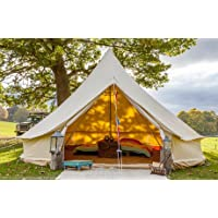 tenty.co.uk Bell Tent 5 metre with zipped in groundsheet by Bell Tent Boutique