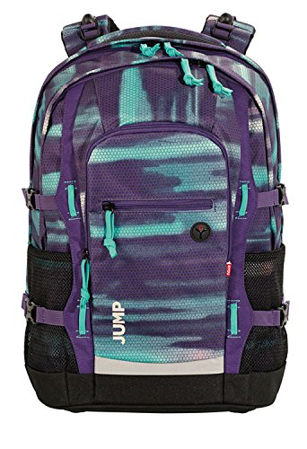 4You Basic Schulrucksack Jump 842 Shades Purple 842 shades purple