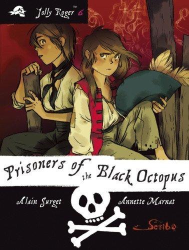 Portada del libro Prisoners of the Black Octopus: Book 6 (Jolly Roger???) by Alain Surget (2014-04-01)
