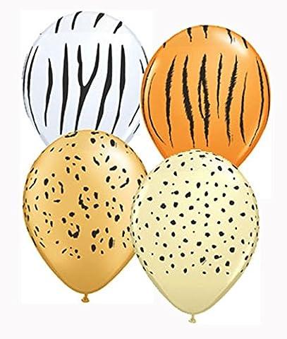 Safari Asst 'd 12,7cm Latex Luftballons