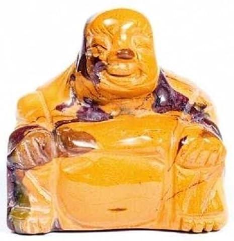 Mookaite Buddha Semi-Precious Gemstone Stone Ornament Household Decorations AVN