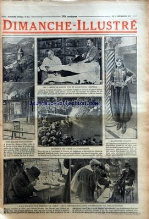 DIMANCHE ILLUSTRE [No 353] du 01/12/1929 - LE MUSEE TUSSAUD A LONDRES VA POSSEDER L'EFFIGIE DE CARNERA - LE GEANT BOXEUR ITALIEN - LE MATCH DE CORDE A L'UNIVERSITE - BLIDEENNE BLONDE DANS LA RACE KABYLE - UNE EGLISE TROGLODYTE - A LA BOURSE AUX TIMBRES DE PARIS par Collectif