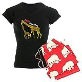 Best CafePress Bottom Giraffes - CafePress Giraffe And Baby Cp Wht - Womens Review