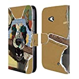 Official Michel Keck German Shepherd Dogs 3 Leather Book
