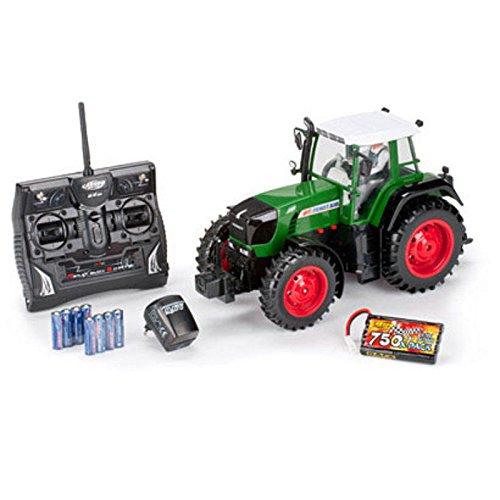 Carson 500907171 1:14 Fendt 100% RTR 2.4G Singlereifen, grün*