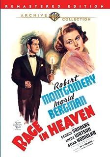 Rage In Heaven by Ingrid Bergman, George Sanders, Lucile Watson, Oscar Homolka Robert Montgomery