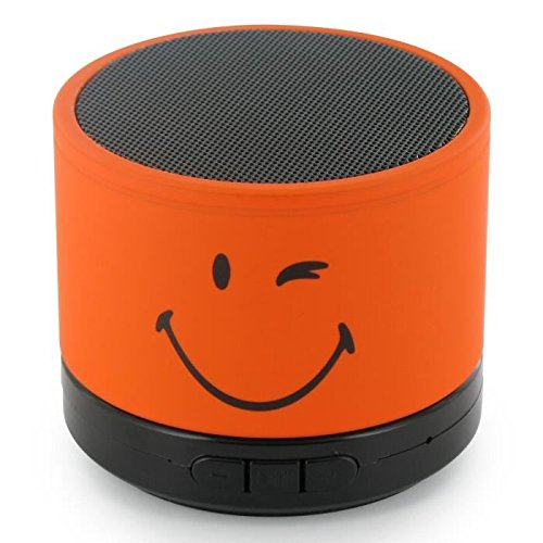 Petite enceinte bluetooth smiley qui sourit