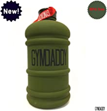 GYMDADDY 2.2 litres BPA Free Sports & Gym Jug (Warrior Green) Superb Matt Finish