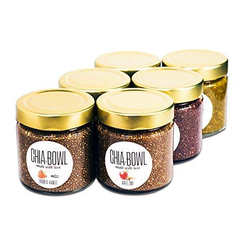 Chia Bowl | Geschmacksmix | 6er Bundle | Snack aus...