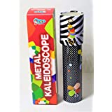Birthday Return Gift Metal Small Kaleidoscope Pack Of 12 Assorted Colors And Designs