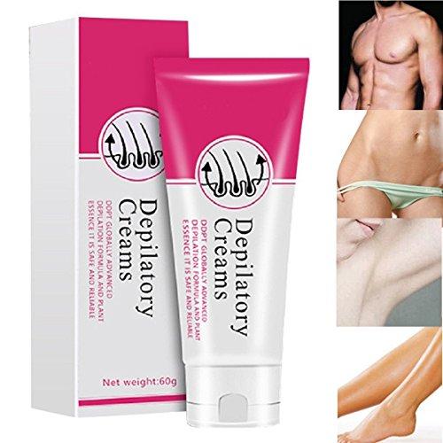 Lasree Laser-Haarentfernungs-Creme - Haut-freundliche schmerzlose makellose Haar-Remover-Creme für Frauen und Männer (60g)
