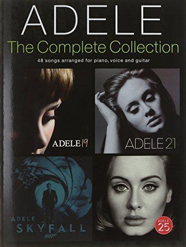 Adele: Complete Collection (PVG): Songbook für Klavier, Gesang, Gitarre