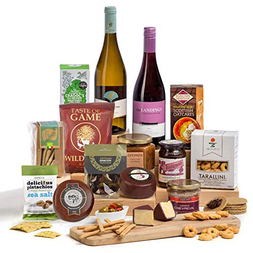 Hay Hampers Cheese & Wine Christmas Party Hamper Gift
