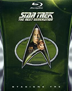 Star Trek: The Next Generation Stagione (3 Blu-ray) (B00BV12TKG) | Amazon price tracker / tracking, Amazon price history charts, Amazon price watches, Amazon price drop alerts