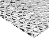Alu Riffelblech Warzenblech Quintett Aluminium Tränenblech Alublech 400x1200x2,0/3,5 mm