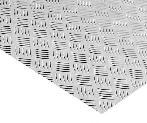 Alu Riffelblech Warzenblech Quintett Aluminium Tränenblech Alublech 500x750x2,0/3,5 mm