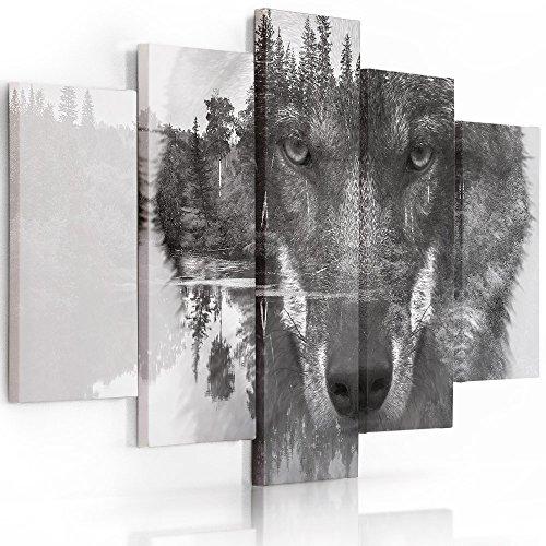 Feeby Frames, Cuadro Lienzo - 5 Partes - Cuadro impresión