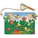 Melissa & Doug 13779 Bug Catching Magnetic Puzzle Game