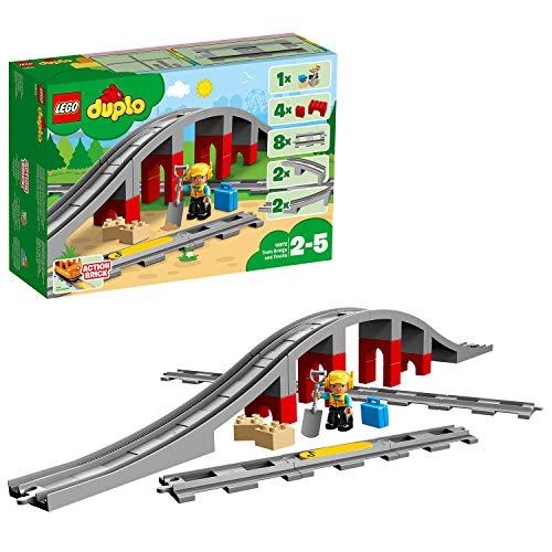 LEGO DUPLO Town - Vías Ferroviarias