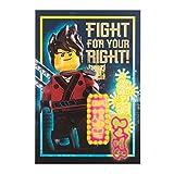 "Hallmark Lego Ninja go ""Fight For Your Right"" Geburtstagskarte"