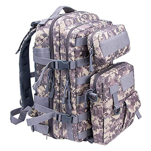 L@LILI Campingrucksack Eat Chicken DREI-Ebenen-Tasche Outdoor-Sportrucksack Reitrucksack Tactical Package Zellulare Systeme