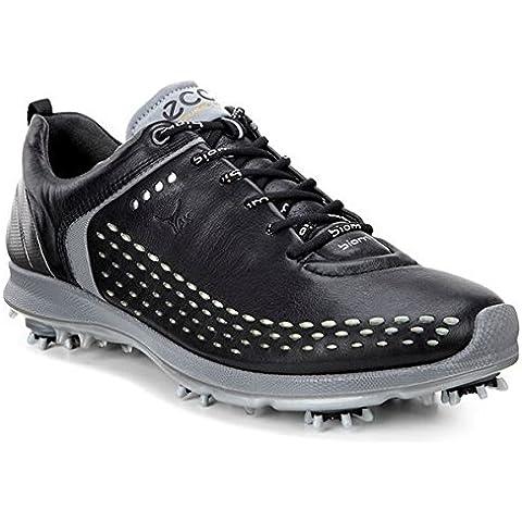 ECCO, Scarpe da golf uomo nero Black/Transparent 44