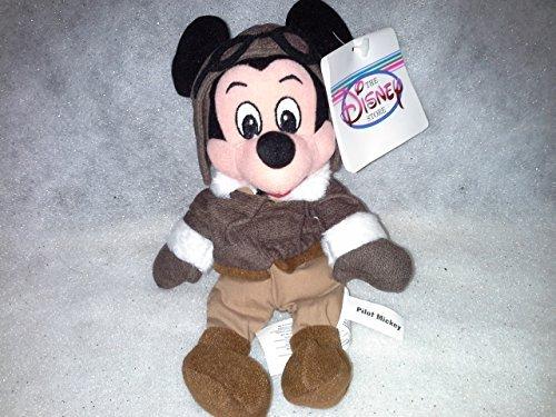 Pilot Mickey Beanie Baby by Disney (Beanie Disney Mickey Baby)