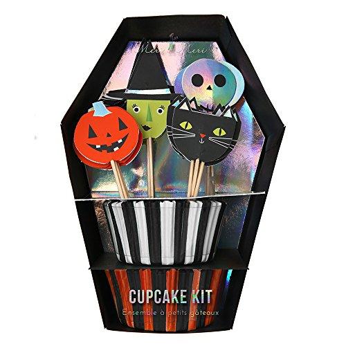 t - Muffin Backset mit Dekopicker von Meri Meri (Halloween-cupcake-boxen)