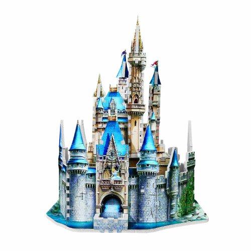 Preisvergleich Produktbild Disney - 200 Piece Cinderella Castle 3D Puzzle