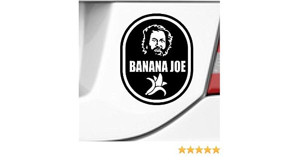 Supersticki Banana Joe Bud Spencer 20 Cm Tuning Car Sticker Adhesive Vinyl Uv Car Wash Proof Tuning Sticker Auto