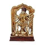 craftvatika 29,2cm groß Messing Kali Statue Idol Hindu Göttin der Zeit & ändern Maa Kalika Shiva Figur Skulptur