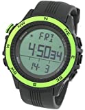 [LAD WEATHER] Deutscher Sensor Multifunktion Digitaler Kompass Höhenmesser Barometer Chronograph Wettervorhersage Outdoor Sportuhr Bergsteigen Laufen Herren Armbanduhr