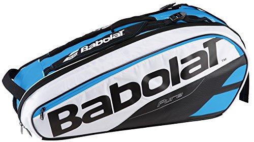Babolat Unisex Racket Holder X 6 Pure Schlägertasche Weiß