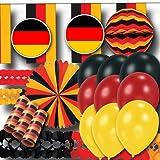 ordeno.eu Partyset Deutschland Partydekoset Grundausstattung