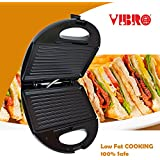 [Sponsored]Vibro 2-Slice SANDWICH MAKER/Grill Toaster (750W) - B07BKRJHT1