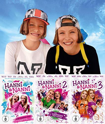 Hanni & Nanni 1 + 2 + 3 Collection (3-DVD)