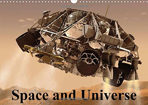 Space and Universe (Wall Calendar 2018 DIN A3 Landscape): Interesting pictures from space (Monthly calendar, 14 pages ) (Calvendo Technology) [Kalender] [Apr 01, 2017] Stanzer, Elisabeth
