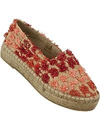 GUESS Zapatillas de Señora Espandrilles Naturaleza