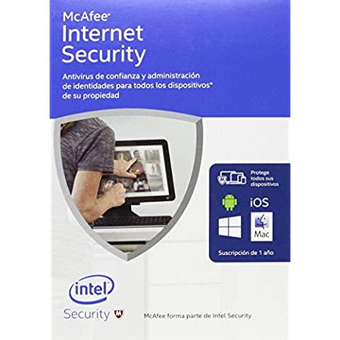 McAfee Internet Security 2016 - Software De Seguridad, Dispositivos Ilimitados
