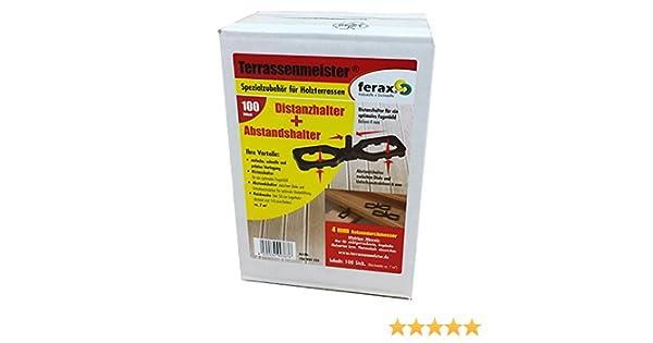 Abverkauf Abstandhalter 4 mm oder 7 mm TERRASSENMEISTER Distanzhalter