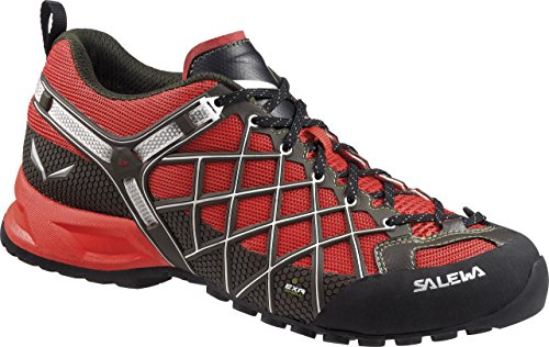Salewa Ms Wildfire Vent, Chaussures Multisport Outdoor Homme Rouge - Rot (1504 Flame/Basilico)