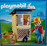 PLAYMOBIL 4491 Hasenstall (Alter 4+)