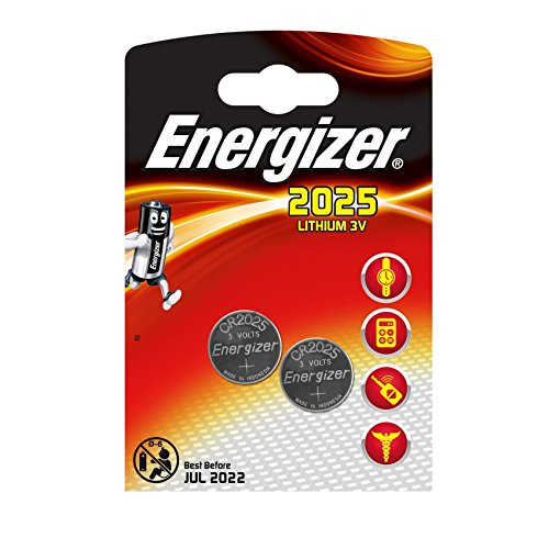 Energizer CR2025 Münze Batterie Pack Menge x 2 / Lithium 3V / Uhren / Taschenlampen / Auto Fob / Taschenrechner / Kamera / EJC Avenue -