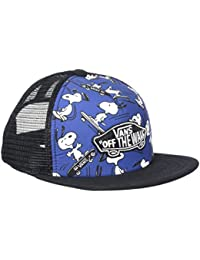 Vans_Apparel Classic Patch Trucker Plus S, Gorra para Niños, Azul (True Navy), Talla Única