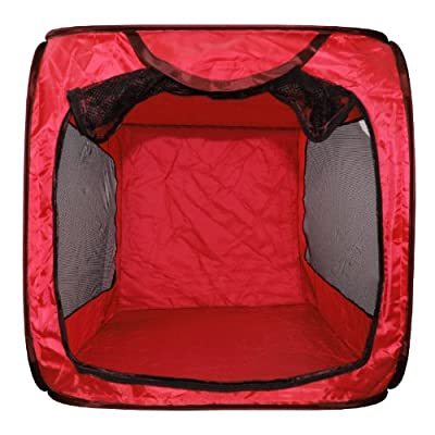 Dog Kennel PET CAT BED HOUSE POP UP FOLDING TRAVEL FOLDABLE CAMPING TENT CAGE by DOG KENNEL